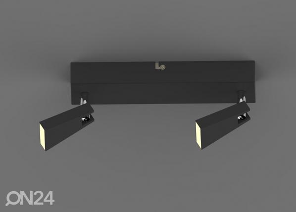 Laevalgusti Spazio Black-2 LED A5-123296
