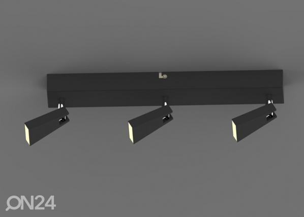 Laevalgusti Spazio Black-3 LED A5-123297