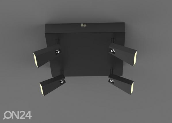 Laevalgusti Spazio Black LED A5-123298