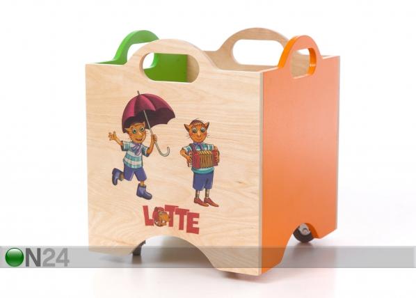Ratastel mänguasjakast Lotte VR-123615
