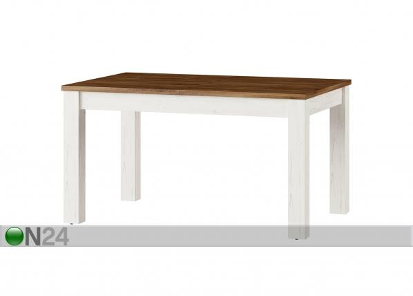 Jatkettava ruokapöytä 90x140-214 cm TF-123816