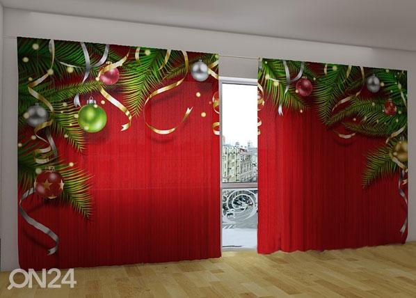Pimentävä verho CHRISTMAS MAGIC 360x230 cm ED-124665