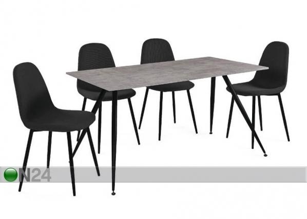Söögilaud + 4 tooli La Comera AQ-124887