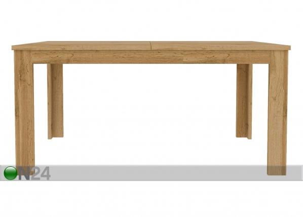Jatkettava ruokapöytä 90x162-230 cm TF-125414