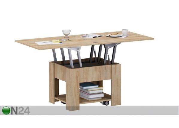Säädettävä sohvapöytä 75-150x65 cm AY-125500