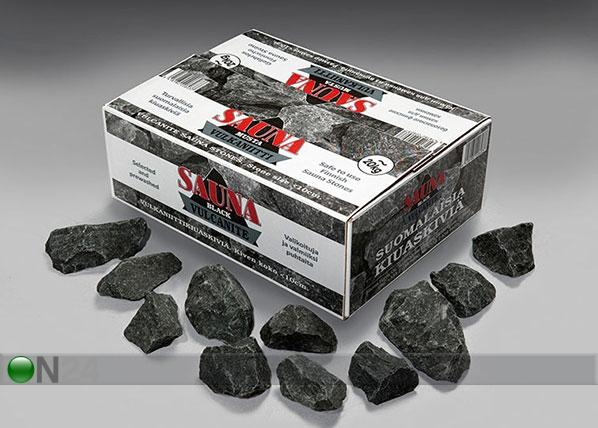 Kiuaskivet vulkaniitti 10-15 cm, 20 kg RH-126245