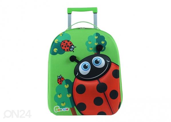 Lasten vedettävä matkalaukku LEPPÄKERTTU KE-126941