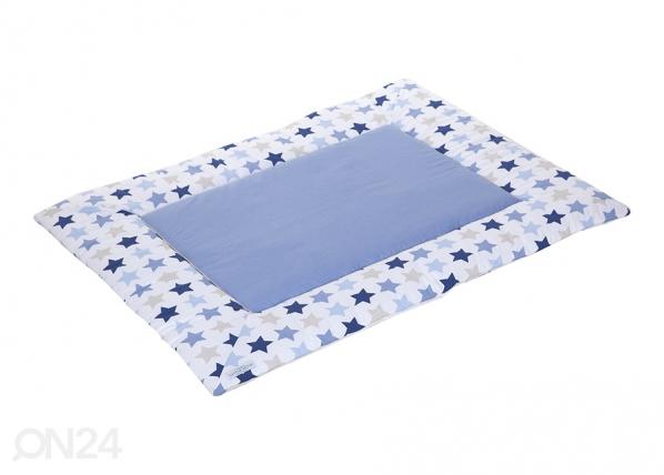 Leikkimatto MIXED STARS BLUE 80x100 cm LC-127328