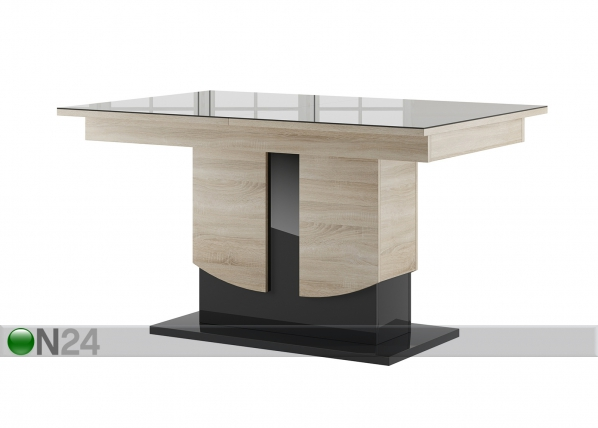 Jatkettava ruokapöytä 90x140-214 cm TF-127457