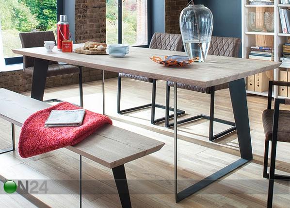 Tammi ruokapöytä JANEK 180x90 cm CM-127468