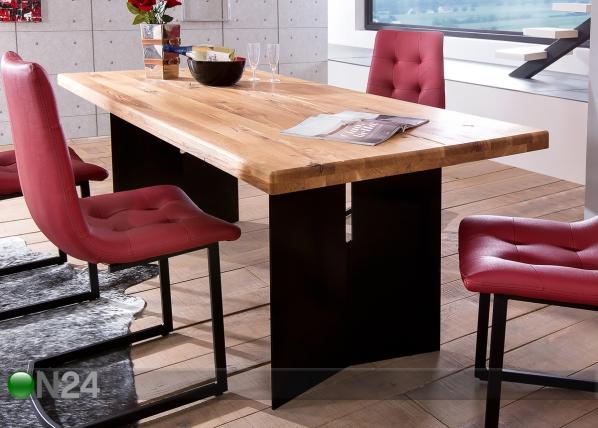 Tammi ruokapöytä LOPAR 200x100 cm CM-127508