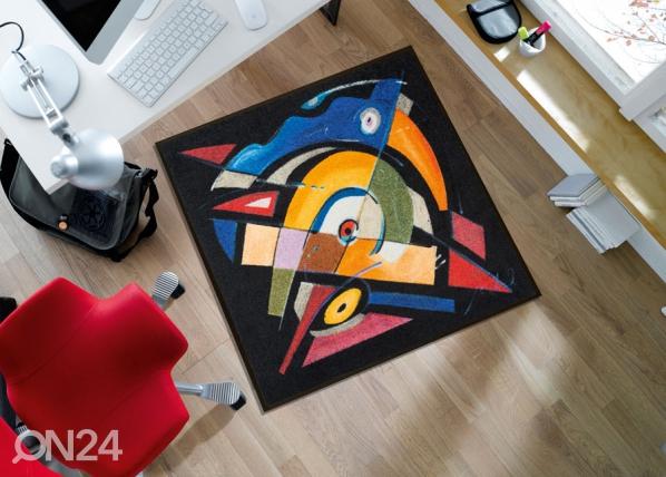 Matto BALANCED RHYTHM-I 85x85 cm A5-128382