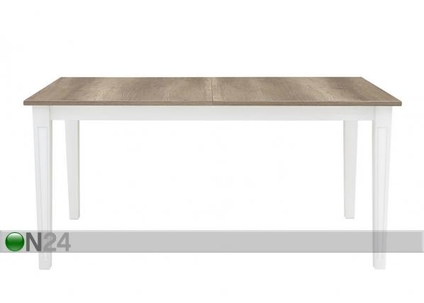 Jatkettava ruokapöytä 90x160-200 cm TF-128428