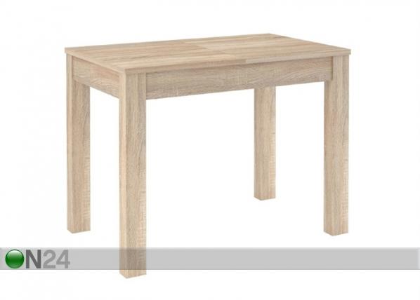 Jatkettava ruokapöytä 80x100-160 cm TF-128466