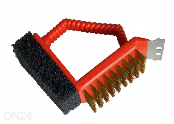 Grillin puhdistusharja BARBECOOK 3in1 TE-129834
