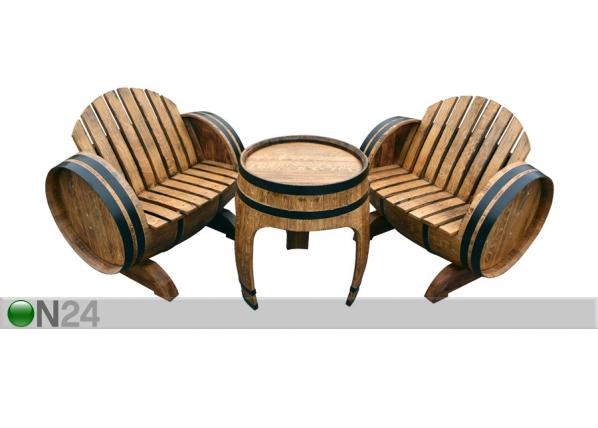 Бочковая мебель из дуба Barrel CE-129886