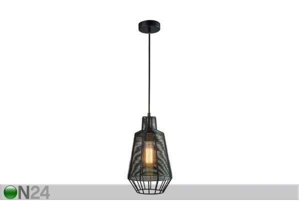 Rippvalgusti Wire Black Ø20 cm A5-130717