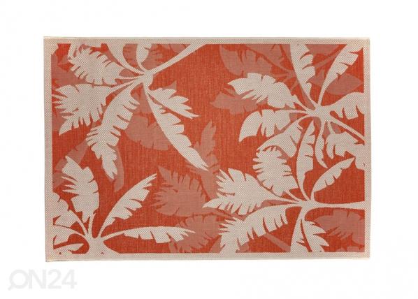 Matto PALMS ORANGE 160x230 cm A5-130783