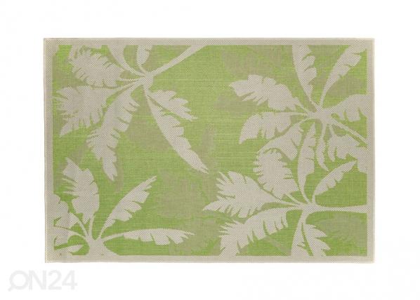 Matto PALMS GREEN 135x190 cm A5-130786
