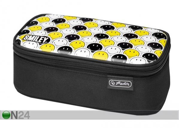 Penaali Herlitz Be Bag Beat Box Smileyworld Black Stripes BB-130960