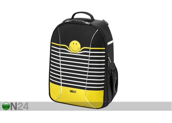1247f843618 Koolikott Herlitz Be Bag AIRGO SmileyWorld Black Stripes BB-131106 ...