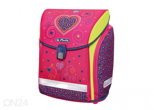 Selkäreppu Herlitz New Midi Pink Hearts BB-131119