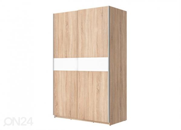 Vaatekaappi liukuovilla 125 cm TF-132629