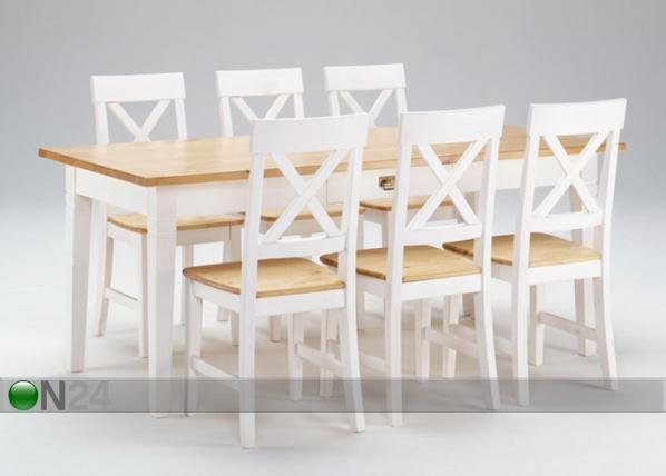 Ruokapöytä MONACO LS-133655