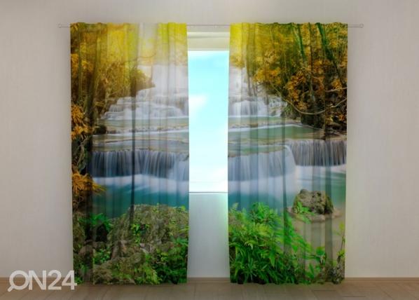 Poolpimendav kardin Autumn waterfall, 240x220 cm ED-133742