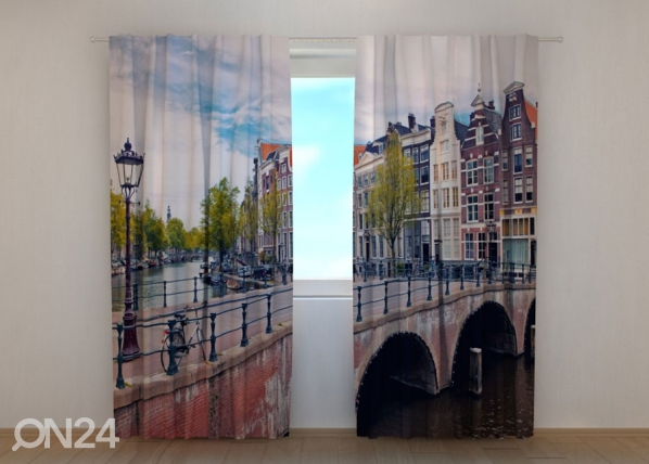 Poolpimendav kardin Bridge in Amsterdam 240x220 cm ED-134227