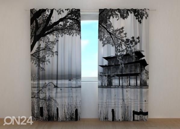 Poolpimendav kardin Chinese Landscape ED-134264