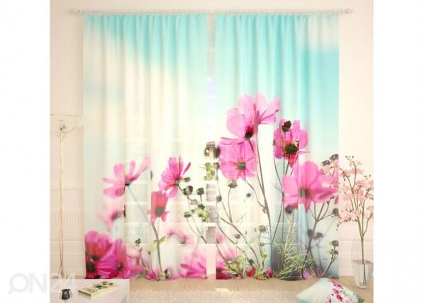 Tylliverhot MORNING FLOWERS 290x260 cm AÄ-134294