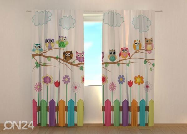Pimendav kardin Funny Owl 1 ED-134673