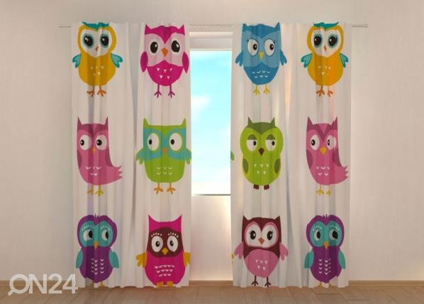 Pimendav kardin Lovely Owl 1 ED-134687