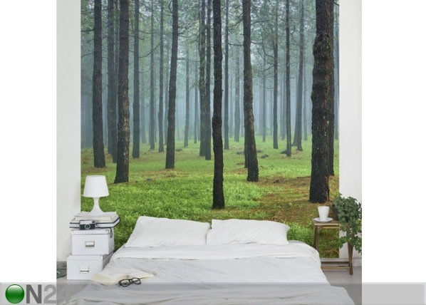 Fleece-kuvatapetti DEEP FOREST WITH PINES ON LA PALMA ED-134898