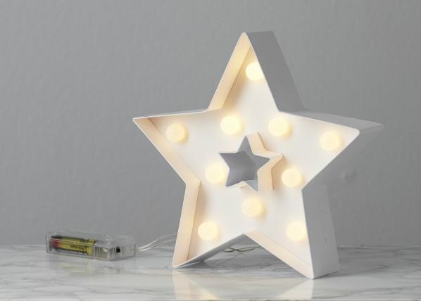 Dekoratiivne LED täht AA-135509