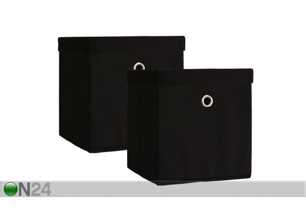 Kannelliset säilytyslaatikot BOXAS, 2 kpl SM-135786