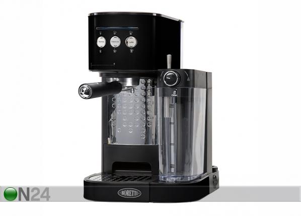 Espressomasin piimavahustajaga Boretti MR-135893