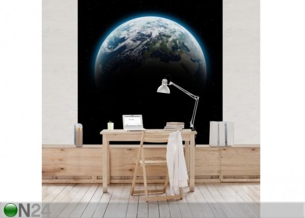 Fleece-kuvatapetti ILLUMINATED PLANET EARTH ED-136000