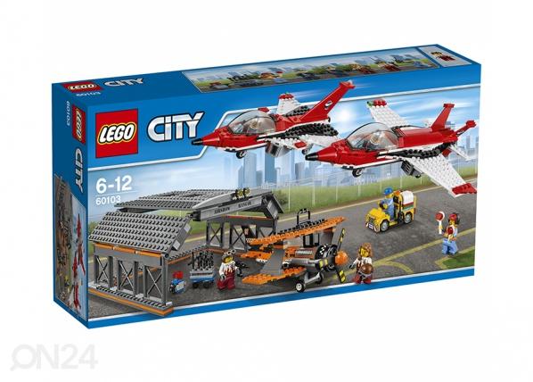 Lentoketntän lentonäytös LEGO CITY