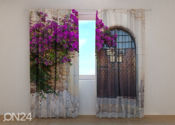 Poolpimendav kardin Purple Bush and Old Door ED-137853