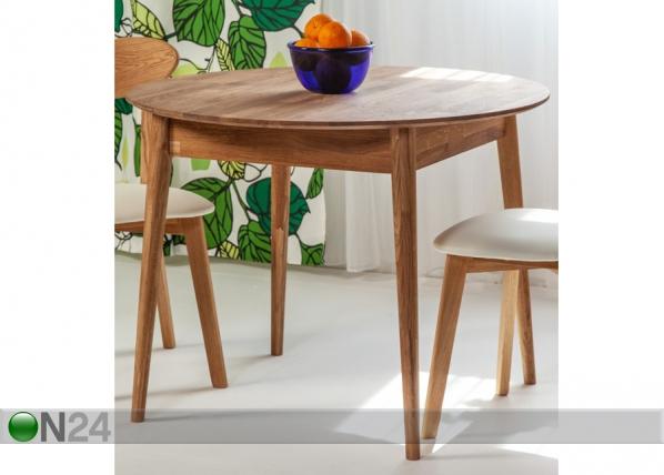Tammi ruokapöytä SCAN EC-137954