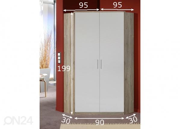Nurkkavaatekaappi JOKER SM-138474