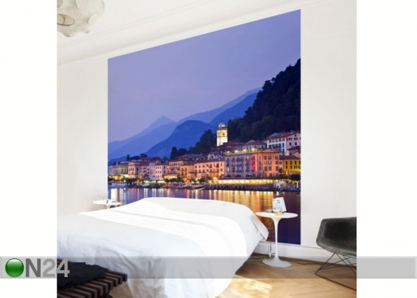 Fleece-kuvatapetti BELLAGIO ON LAKE COMO ED-138559