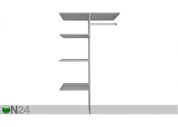 Vaatekaapin jakaja 110 cm SM-139005