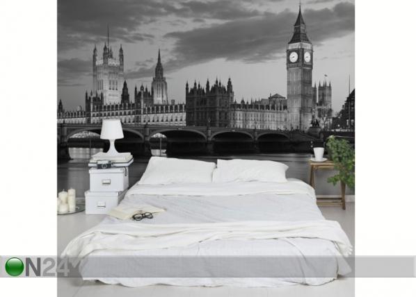 Fleece-kuvatapetti LONDON AT NIGHT II ED-139301