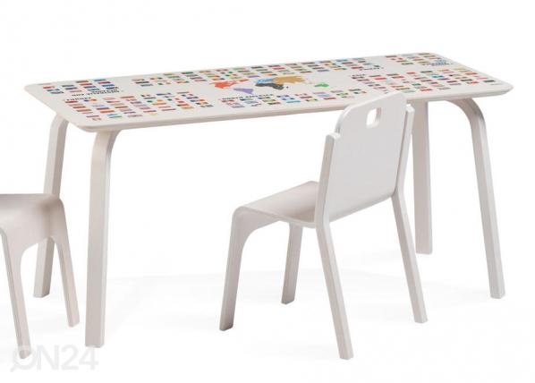 Lasten pöytä TOMMY 2 REGIO MAAILMANKARTALLA TO-139910
