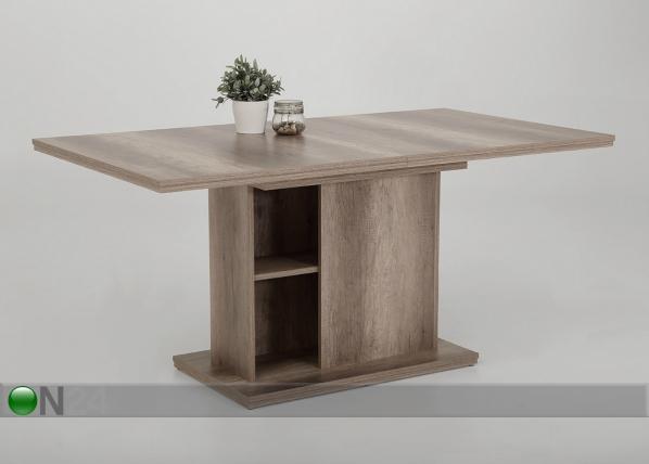 Jatkettava ruokapöytä VIKTORIA 90x160/200 cm SM-140095