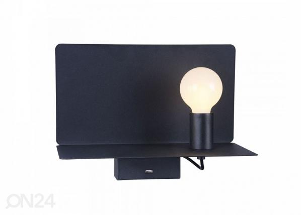 Seinävalaisin USB lataajalla RACK EW-140330