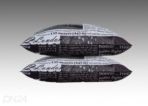 Tyyny LONDON 50x60 cm (2 kpl) ND-140355